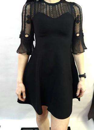 Красивое ажурное платье vero moda размер s