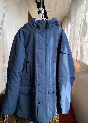 Мужская зимняя куртка парка carhartt wip anchorage