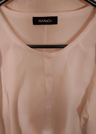 Белая блуза блузка рубашка maxmara max mara