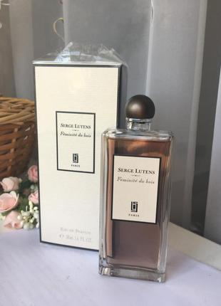 Serge lutens feminite du bois eau de parfum 50 ml парфюм остаток 99,9%