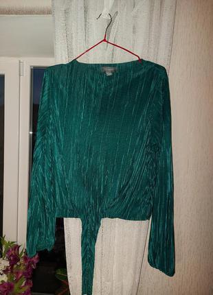 Блуза внизу на завязке от primark