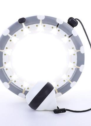 Обруч умный массажный не падающий разборной для похудения живота, талии и боков хулахуп hula hoop ml (hh4)