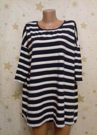 Блуза оверсайз body by tchibo