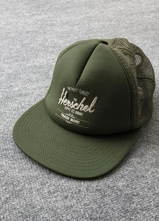 Шикарна кепка від herschel track cap green