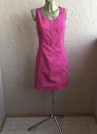 Платье в «гусиную лапку» next