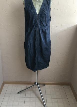 Джинсовое платье soyaconcept
