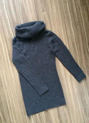 Теплый длинный свитер кофточка от atmosphere