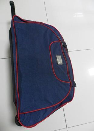 Сумка дорожная на колесах женская гигант - yins bag.