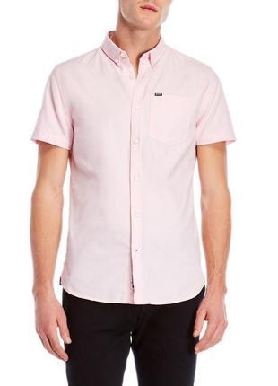 Рубашка мужская с коротким рукавом брендовая