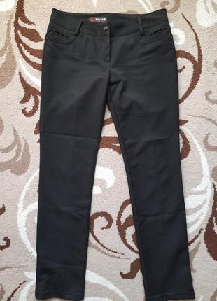 Черные плотные брюки