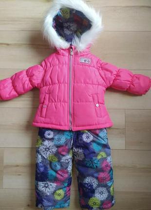 Зимний костюм комбинезон для девочки skechers (сша) на 2 года