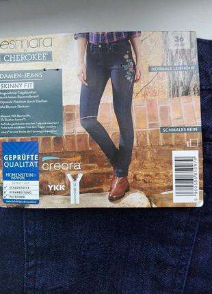 Женские джинсы с вышивкой esmara