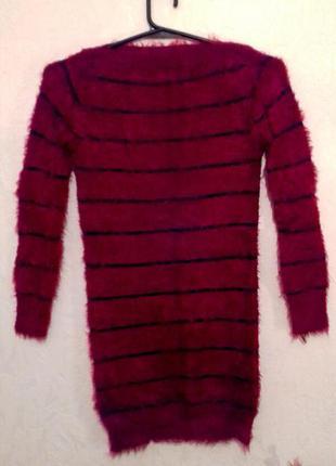 Теплая туника -платье