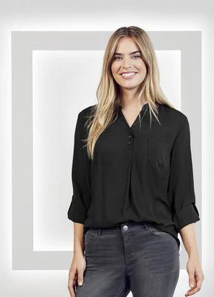 Легкая элегантная блуза 3xl 46 euro esmara германия