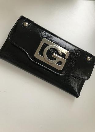 Guess кошелёк лаковый кошелек