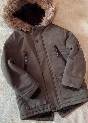 Курточка парка primark 104/110