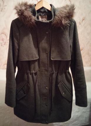Шерстяное пальто orsay