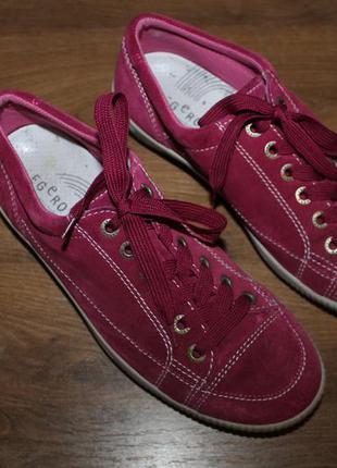 Замшевые кроссовки, полуботинки legero, 39 размер