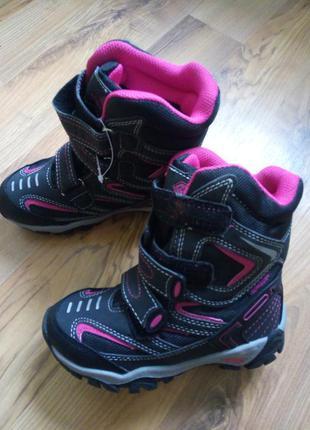 Термо ботинки сапоги розмір-28 зимна