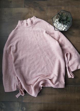 Мягкий теплый плюшевый свитерок