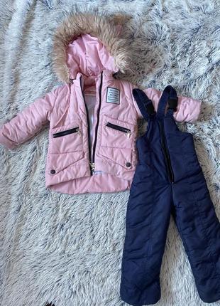 Комбинезон детский комбінезон дитячий куртка курточка зима