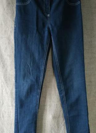 Базовые брюки штаны в джинсовом стиле леггинсы. pepperts.