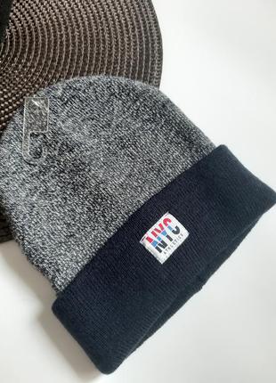 Тепла двійна шапка на 4-6 років