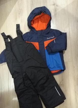 Термо куртка лижня костюм  lupilu 86/92