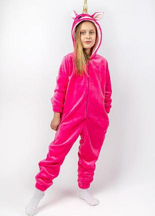 Кігурумі ціна від 370 грн. єдиноріг дитячий та підлітковий, рожевий