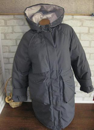 Куртка удлиненная / пальто оверсайз eur 38/40