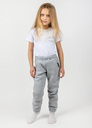 Детские ціна від 219 грн. теплые штаны, серый
