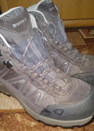 Крутые треккинговые термо ботинки brasher gore-tex 39 размер 25,5 cм