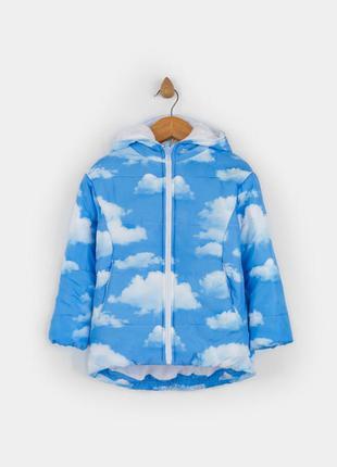 Куртка с облаками