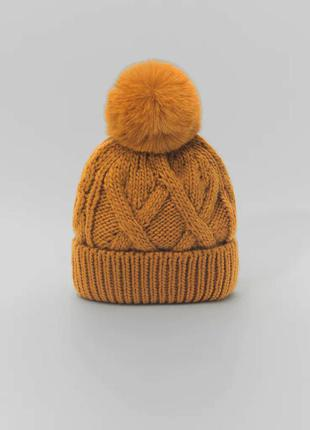 Осенняя шапка zara
