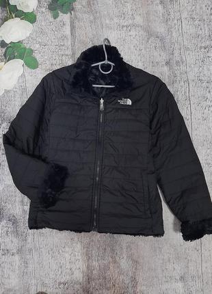 The north fase оригинал двостороння куртка куртка на две стороны