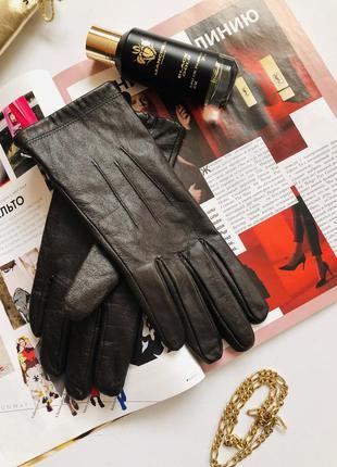 Marks spenser шкіряні рукавички еска-емка