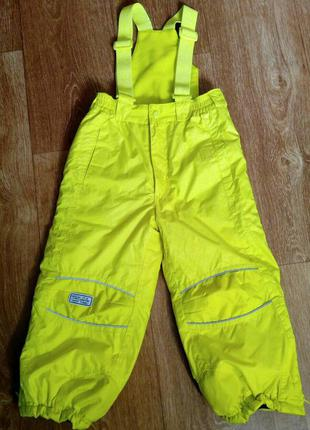 Лыжные штаны, термокомбинезон kiki&koko. рост-110 см. 5 лет.