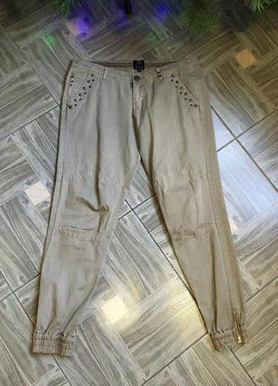 Стильные коттоновые брюки,карго,бананы!
