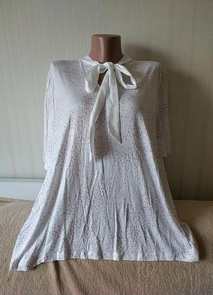 Оригинальная блузка, вискоза, новая, р 24