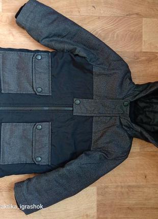 Куртка, парка, осень 104 размер