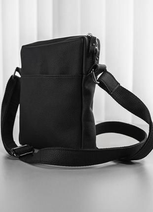 Мужская сумка мессенджер из натуральный кожи ручной работы