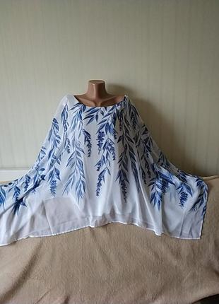 Блузка нарядная,. идеальное состояние, р 20