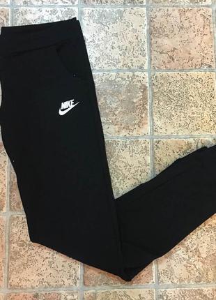 🔥распродажа🔥  спортивные штаны женские черные жіночі спортивні штани чорні л 46р