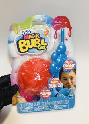 Надувной гель slime bubl magic bubl gel