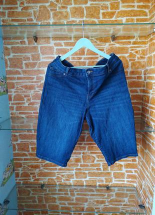 Чоловічі джинсові шорти бермуди tu 52 xxl