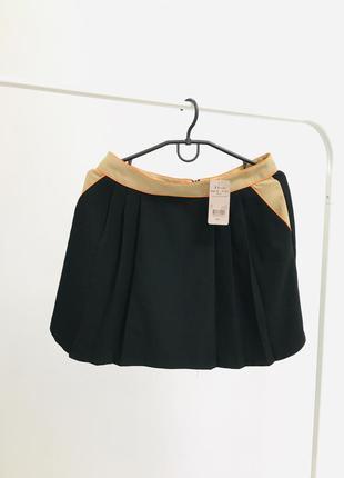 Новая классическая юбка базовая в легкую складку от a wear  1+1=3 🎁