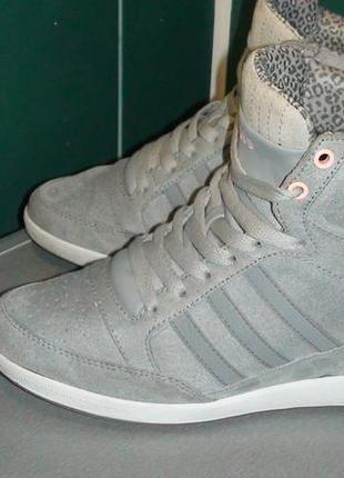 Adidas neo label- замшеві снікерси. р- 40.(25см).