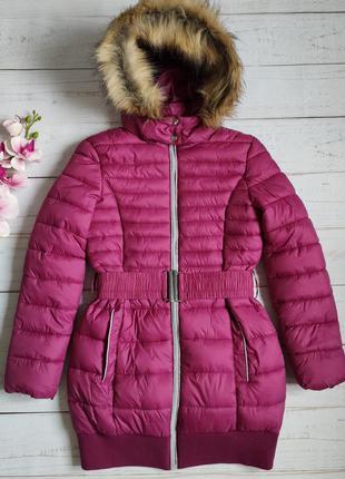Новая демисезонная куртка ovs италия р. 146 на 10-11 лет удлиненное пальто демісезонна