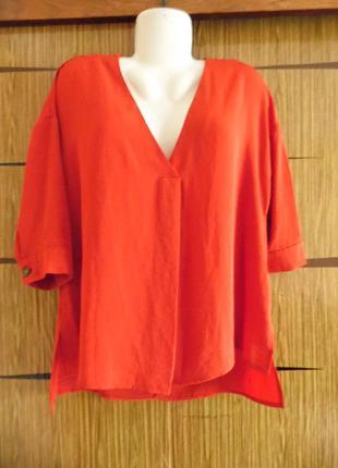 Блуза оверсайз peacocks размер 10 – идет на 46-48-50.