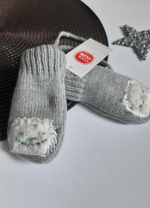 Рукавички на шнурках